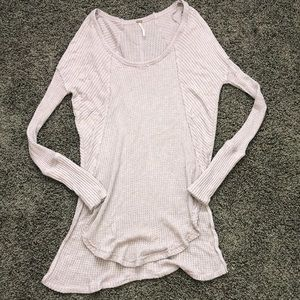 Lavender free people shirt size XS